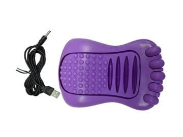 2 x VIBRATING FOOT MASSAGER - battery or USB operated FEET MASSAGING